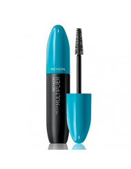Revlon Mega Multiplier Mascara, Blackest Black, 0.28 Fluid Ounce