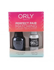 Orly Second Hand Jade Perfect Pair Matching Lacquer Plus Gelfx Duo Kit, 2 Count
