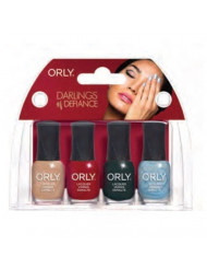 Orly Mini Kit Darlings of Defiance Nail Lacquer, 4 Count