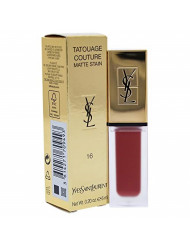 YSL Tatouage Couture Liquid Matte Lip Stain - Nude Emblem No. 16