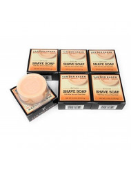Van Der Hagen Deluxe Shave Soap, 2.5-Ounce Boxes (Pack of 6), Packaging May Vary