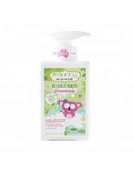 Jack n Jill Natural Bathtime Bubble Bath Sweetness 10 14 fl oz 300 ml