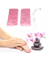 ZJchao Electric Heated Beauty Hand Mitts, Professional Heated Paraffin Wax SPA Treatment Hand Care Mittens and Foot Care Podotheca (Mittens)