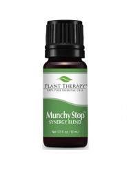 Plant Therapy Munchy Stop Synergy Essential Oil 10 mL 100% Pure, Undiluted, Therapeutic Grade