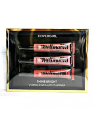 CoverGirl Metling Pout Gel Liquid Lipstick 3 pack Shine Bright #115/110/125