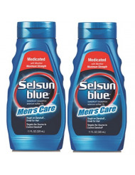 Selsun Blue Men's Care Dandruff Shampoo, 11 Ounce (Pack of 2)