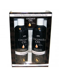 Morocco's Natural Beauty Rejuvenating Shampoo and Conditioner with Coconut Oil - 12 oz each Sulfate Free