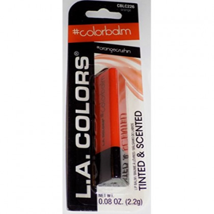L.A. Colors Tinted & Scented Lip Balm #Colorbalm #OrangeCrushin
