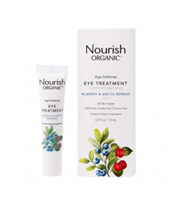 Nourish Organic Age Defence Eye Treatment, 0.5 Ounce