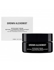 Grown Alchemist Detox Night Cream - Peptide-3 & Reishi Extract - Face & Neck Cream Made with Organic Ingredients (40ml / 1.35oz)