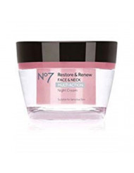 No7 Restore & Renew FACE & NECK MULTI ACTION Night Cream 50ml