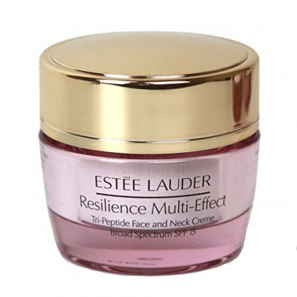 Estee Lauder Resilience Multi-Effect Tri-Peptide Face and Neck Creme, 0.5 oz / 15ml, Travel Size Unboxed