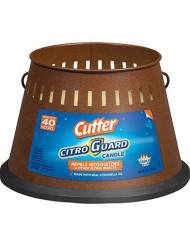 Cutter 95784 Citro Guard Citronella Candle, 20-Ounce, Copper
