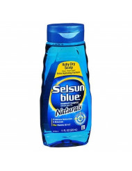Selsun Blue Shampoo Dandruff Itchy Dry Scalp 11 Ounce (325ml) (2 Pack)