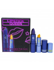 Lipstick Queen Here Comes The Sun Lipstick Duo By Lipstick Queen for Women - 2 Pc 0.12oz Blue By You Lipstick, 0.05oz Mornin Sunshine Lipstick, 2count