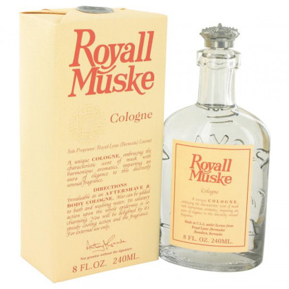 Royall Muske Cologne by Royall Fragrances, 8 oz All Purpose Lotion / Cologne