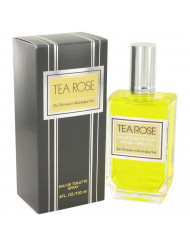 Tea Rose Perfume by Perfumers Workshop, 4 oz Eau De Toilette Spray