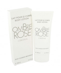 Ombre Rose Perfume by Brosseau, 6.7 oz Body Lotion