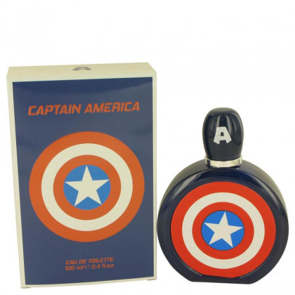Captain America Cologne by Marvel, 3.4 oz Eau De Toilette Spray