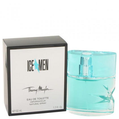 Ice Men by Thierry Mugler,Eau De Toilette Spray 1.7 oz, For Men