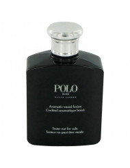 Polo Black Cologne by Ralph Lauren, Eau De Toilette Spray (Tester) 4.2 oz