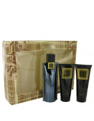 Bora Bora Cologne by Liz Claiborne, Gift Set - 3.4 oz Cologne Spray + 3.4 oz Body Moisturizer + 3.4 oz Hair & Body Wash