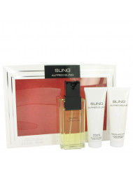 Alfred Sung Perfume by Alfred Sung, Gift Set - 3.4 oz Eau De Toilette Spray + 2.5 oz Body Lotion + 2.5 oz Shower Gel