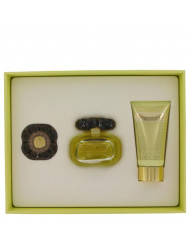 Gift Set -- 3.4 oz Eau De Parfum Spray + 2.5 oz Body Loiton + Perfume Compact