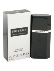 Silver Black Cologne by Azzaro, 1 oz Eau De Toilette Spray