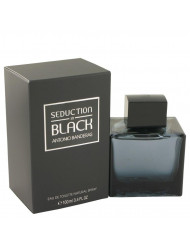 Seduction In Black Cologne by Antonio Banderas, 3.4 oz Eau De Toilette Spray