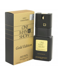 One Man Show Gold Cologne by Jacques Bogart, 3.3 oz Eau De Toilette Spray