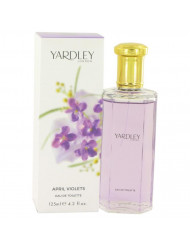 April Violets Perfume by Yardley London, 4.2 oz Eau De Toilette Spray