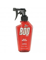 Bod Man Most Wanted Cologne by Parfums De Coeur, 8 oz Fragrance Body Spray