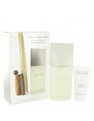 L'EAU D'ISSEY (issey Miyake) by Issey Miyake,Gift Set -- 4.2 oz Eau De Toilette Spray + 2.5 oz Shower Gel, For Men