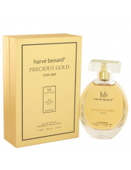 Precious Gold by Harve Benard,Eau De Parfum Spray 3.4 oz, For Women