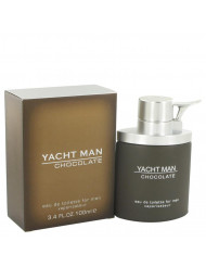 Yacht Man Chocolate Cologne by Myrurgia, 3.4 oz Eau De Toilette Spray
