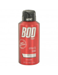 Bod Man Most Wanted Cologne by Parfums De Coeur, 4 oz Fragrance Body Spray
