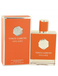 Vince Camuto Solare Cologne by Vince Camuto, 3.4 oz Eau De Toilette Spray
