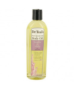 Dr Teal's Bath Oil Sooth & Sleep With Lavender Perfume, 8.8 oz Pure Epsom Salt Body Oil Sooth, Sleep with Lavender