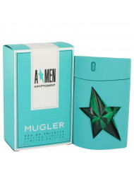 Angel Kryptomint Cologne By Thierry Mugler Eau De Toilette Spray For Men 3.4 oz