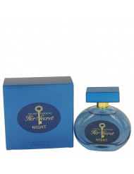 Her Secret Night Perfume by Antonio Banderas, 2.7 oz Eau De Toilette Spray