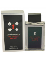 The Secret Game Cologne by Antonio Banderas, 3.4 oz Eau De Toilette Spray