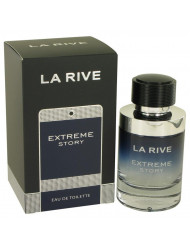 La Rive Extreme Story Cologne By La Rive Eau De Toilette Spray For Men 2.5 oz
