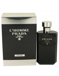 L'homme Intense Prada Cologne by Prada, 3.4 oz Eau De Parfum Spray