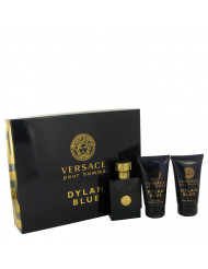 Versace Pour Homme Dylan Blue Cologne by Versace, Gift Set - 1.7 oz Eau De Toilette Spray + 1.7 oz After Shave Balm + 1.7 oz Shower Gel