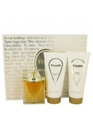 Tiamo Perfume by Parfum Blaze, Gift Set - 3.4 oz Eau De Parfum Spray + 6.8 oz Body Lotion + 6.8 oz Shower Gel
