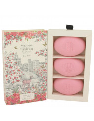 True Rose Perfume by Woods Of Windsor, 2.1 oz Three 2.1 oz Luxury Soaps