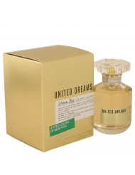 United Dreams Dream Big Perfume by Benetton, 2.7 oz Eau De Toilette Spray