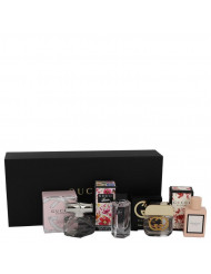 Gift Set -- Gucci Travel Set Includes Gucci Bamboo, Gucci Guilty, Flora Gorgeous Gardenia and Gucci Bloom