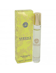 Versace Yellow Diamond Perfume By Versace EDT Rollerball For Women 0.3 oz